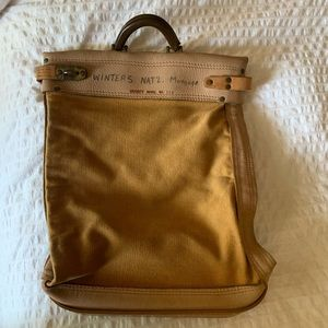 Vintage Documents Carrier Bag